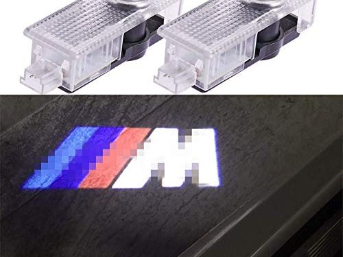 2 PCS Door Lights Logo Projector Lights Ghost Welcome Lamp for BMW Compatible Accessories