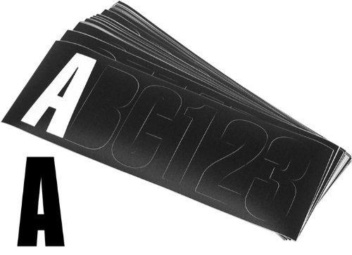 Shoreline Marine Letter Kit Block 3-Inch Black