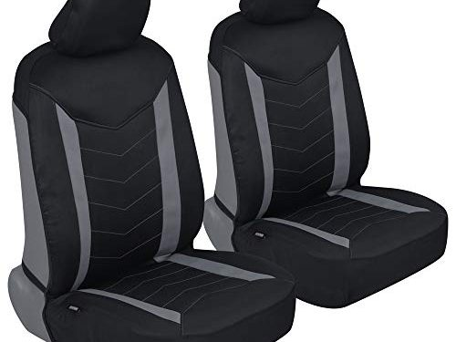 Two Tone Stitched Premium Waterproof Auto Universal Fit for Sedan Truck SUV – Motor Trend M284 AllProtect Neoprene Car Seat Covers