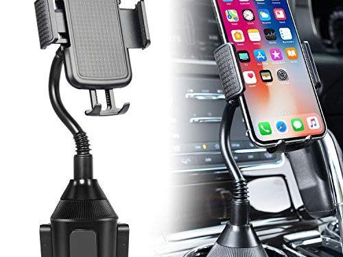 Bestfy Car Cup Holder Phone Mount,Upgraded Universal Cell Phone Holder Mount Cradle for 3.5-6.5 inch Smartphones