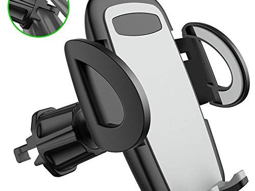 Air Vent Car Phone Holder Diaclara The Most Stable Vehicle Phone Mount Cell Phone Universal Cradle Compatible with iPhone Xs Max XR 8 Plus 7 6 Galaxy S10 9 8 7 6 5 4 LG Nexus Sony Pixel Grey