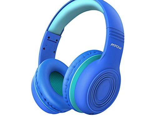 Mpow CH6 2019 New Version Kids Headphones Over-Ear/On-Ear, HD Sound Sharing Function Headphones for Children Boys Girls, Volume Limited Safe Foldable Headset w/Mic for School/PC/Cellphone