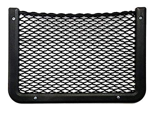 Framed Stretch Mesh Net Pocket for Auto, RV, or Home Organization and Storage 8″ x 11″