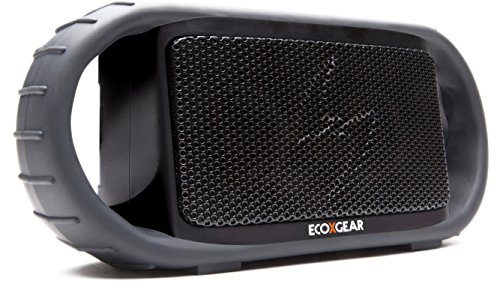 ECOXGEAR ECOXBT Rugged and Waterproof Wireless Bluetooth Speaker Black