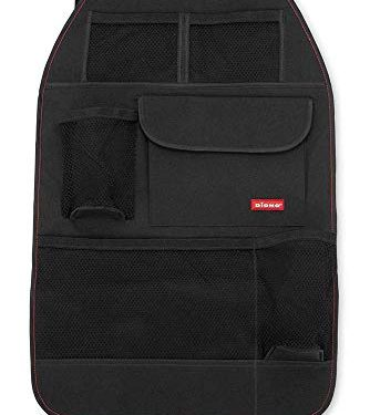 Diono Stow 'n Go, Back Seat Car Organizer for Kid Toys, Books and Snacks, Black