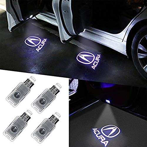 Aukur 4 Piece Auto Door Logo Projector Car Door Lights