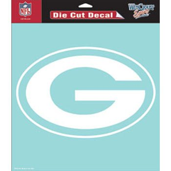 WinCraft NFL Green Bay Packers WCR25651061 Perfect Cut Decals, 8″ x 8″