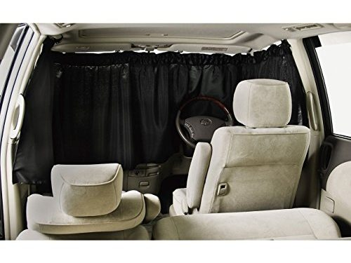 BONFORM curtain Vehicle night shut curtain front 3-point 7901-03BK for cars
