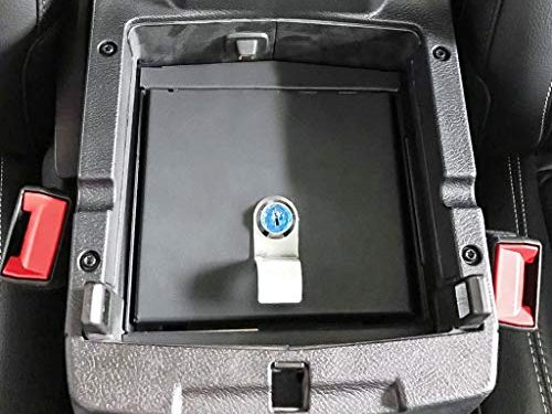Security Console Insert for Jeep JL JLU Lock Box Lockable Console Safe Storages fit Unlimited Sahara Sport Rubicon 2018 2019