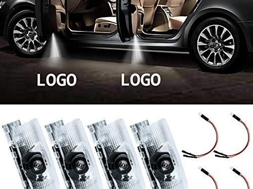 Eogifee LED Car Door Light Courtesy Projector Laser Welcome Lights Ghost Shadow Light Lamps Accessories for The Replacement of Lexus RX/ES/GX/LS/LX/IS Series4 Pack