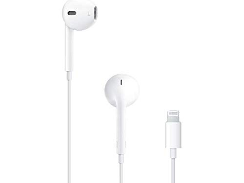 White – Apple EarPods with Lightning Connector
