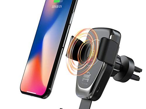 Fast Car Wireless Charger 360°Rotatable -QI Fast Charger Compatible with iPhone Xs/XR/XS Max/X 8 Plus,Samsung Galaxy S9/S8/S7 Note 8. – ANKCE Wireless Car Charger Mount