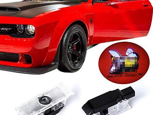 Dodge Challenger Projector Ghost Shadow Courtesy Light Welcome Light for Dodge Challenger Scat Pack RT SRT SXT GT SE-No15