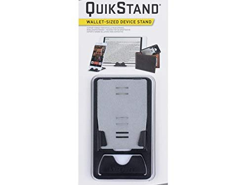 Nite Ize QuikStand – Compact Smartphone Stand Fits iPhone, Samsung, Small Tablets, and E-readers