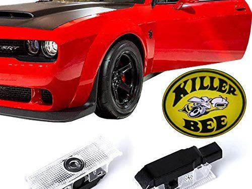 Dodge Challenger Projector Ghost Shadow Courtesy Light Welcome Light for Dodge Challenger Scat Pack RT SRT SXT GT SE-No18