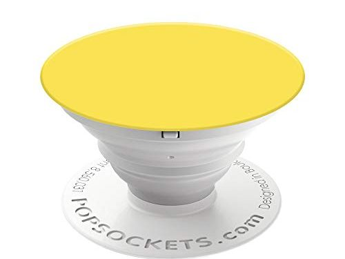 Yellow – PopSockets: Collapsible Grip & Stand for Phones and Tablets