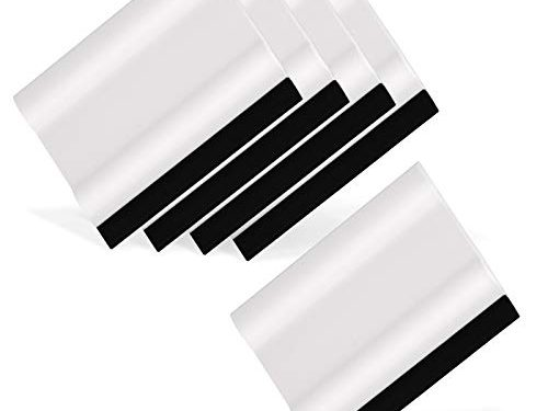 Ehdis 3″ Block Squeegee Car Rubber Squeegee Work with Film, Stickers, Decals and Vinyl 5 pcs