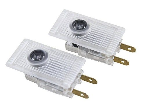 2pcs Fit for Buick Regal LED Door Projector Lights 3D Logo Welcome Puddle Lights Ghost Shadow Courtesy Step Light Error Free Plug and Play 5W
