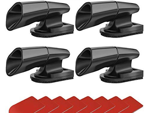 MOARMOR Deer Whistles for Car/Truck/Vehicle/Motorcycle Car Deer Warning Whistles Deer Horn for Car4 Pack with 8 Adhesive Tapes