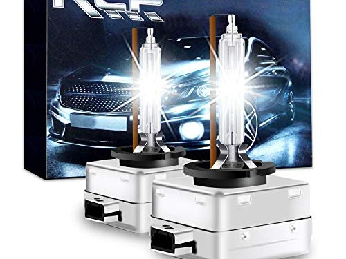 RCP – A Pair D1S/ D1R 4300K Xenon HID Replacement Bulb Factory White Warm White Metal Stents Base 12V Car Headlight Lamps Head Lights 35W – D1S4
