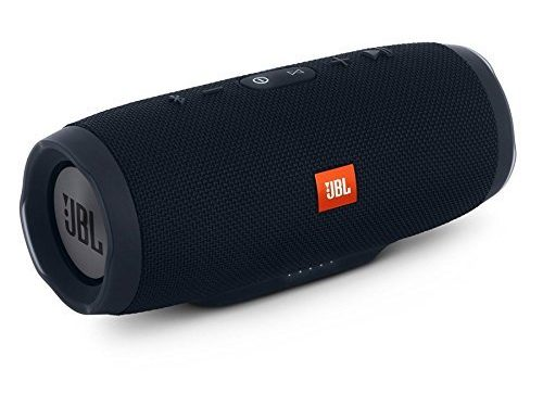 JBL Charge 3 JBLCHARGE3BLKAM Waterproof Portable Bluetooth Speaker Black