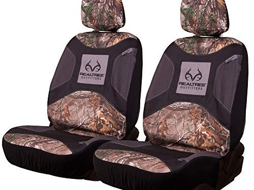 Realtree Camo Seat Covers   Low Back   Xtra   2 Pack