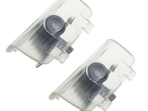 2pcs Fit for Honda Led Logo Projector Door Lights 3D Welcome Puddle Lights Ghost Shadow Courtesy Step Light for Spirior Odyssey CR-Z Elysion Error Free Plug and Play 5W