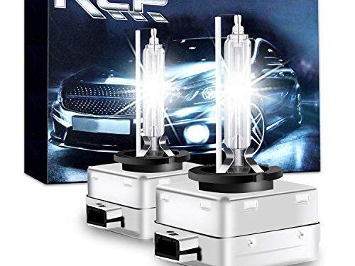 D3S6 – RCP – A Pair D3S/ D3R 6000K Xenon HID Replacement Bulb Diamond White Metal Stents Base 12V Car Headlight Lamps Head Lights 35W