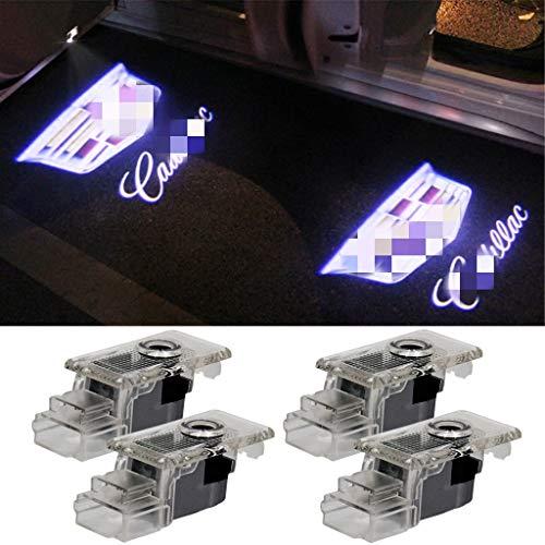 Car LED Door Logo Lights Projector 3D Ghost Shadow Lights