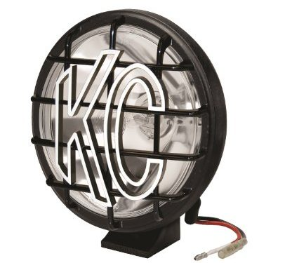 KC HiLiTES 1150 Apollo Pro 6″ 100w Single Spot Beam Light with Integrated Stone Guard