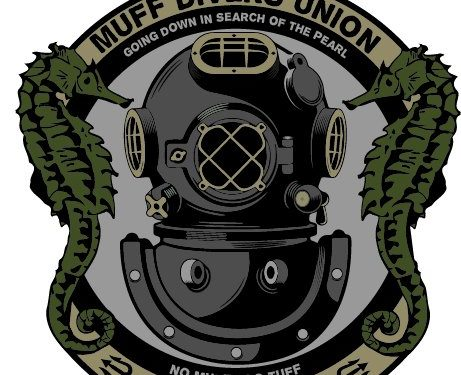 Bumper Sticker Decal – F-Bomb Morale Gear Muff Diver's Union