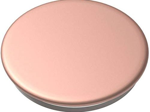 PopSockets PopGrip: Swappable Grip for Phones & Tablets – Aluminum Rose Gold