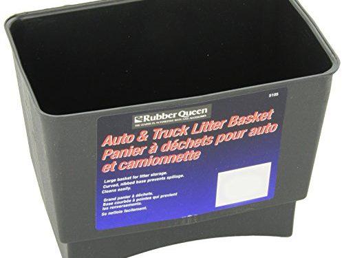 Rubberqueen 51051 Litter Basket Black
