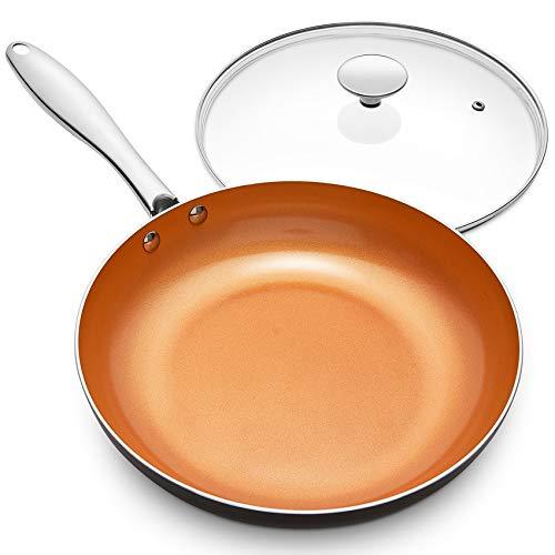 Top 10 MICHELANGELO 12 Inch Frying Pan with Lid – Woks & Stir-Fry Pans