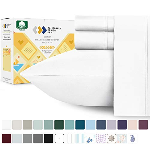 Top 10 Cotton Sheets Full – Sheet & Pillowcase Sets