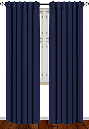 Top 10 Navy Blue Curtains – Window Curtain Panels
