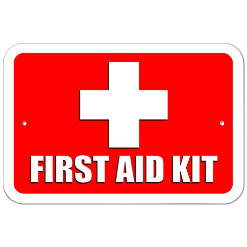 Top 3 First Aid Kit Sign – Decorative Signs & Plaques