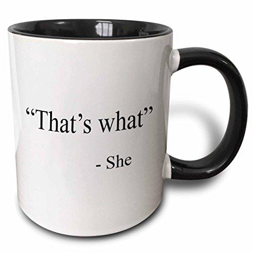 Top 10 Thats What She Said Coffee Mug – Glassware & Drinkware
