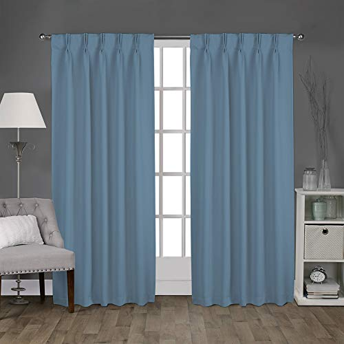 Top 10 Pleated Drapes for Traverse Rod – Window Curtain Panels