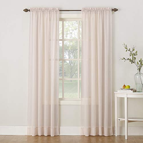 Top 9 Crushed Voile Sheer Curtains 63 Inch – Window Curtain Panels