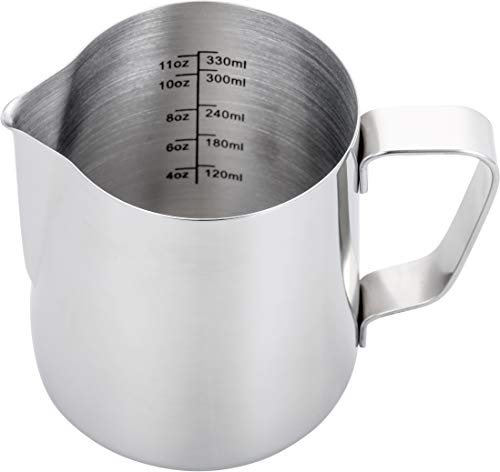 Top 10 Milk Frother Cup – Espresso Steaming Pitchers