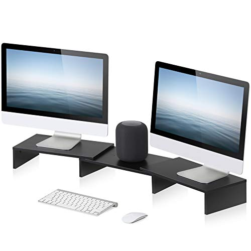 Top 9 Dual Monitor Stand – Desktop Shelves & Office Shelves