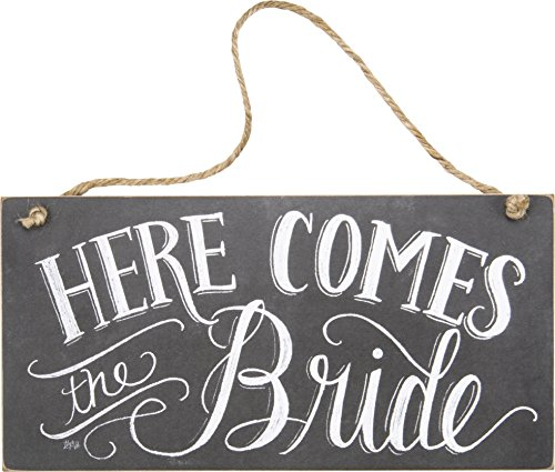 Top 10 Here Comes The Bride Sign – Decorative Signs & Plaques