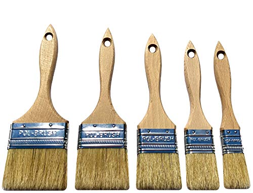 Top 10 Bristle Brushes for Painting – Household Bristle Paint Brushes