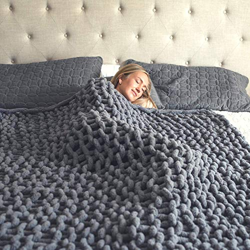 Top 10 Chunky Knit Blanket – Bed Throws