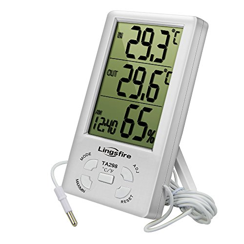 Top 10 Wired Indoor Outdoor Thermometer – Home & Kitchen