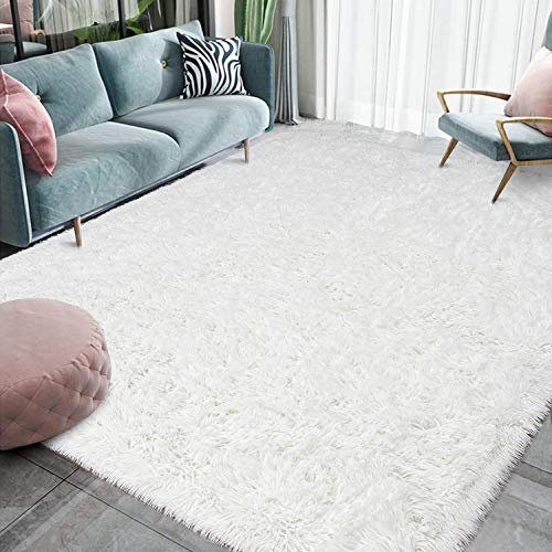 Top 10 White, Fluffy Rug – Area Rugs