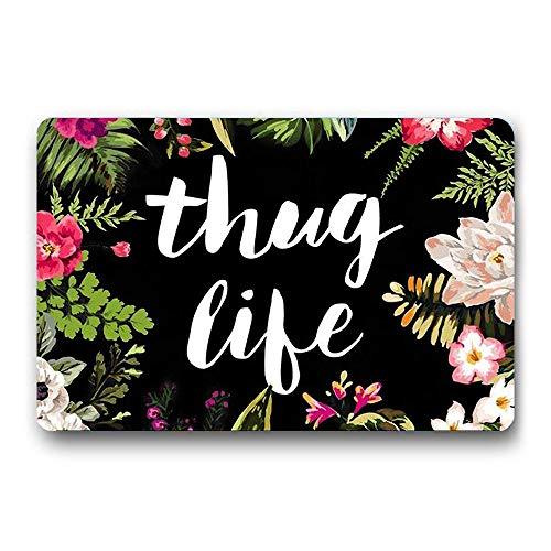 Top 10 Thug Life Mat – Outdoor Doormats