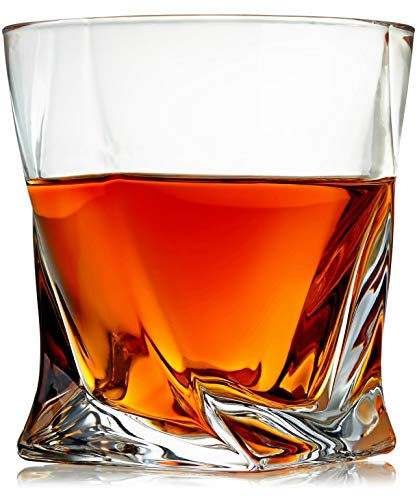 Top 10 Twisted Whiskey Glasses – Old Fashioned Glasses