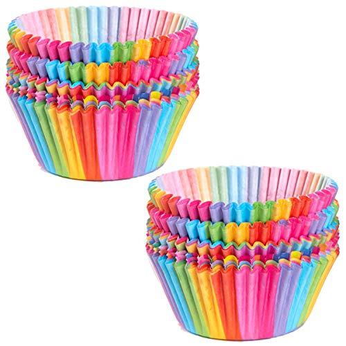 Top 10 Rainbow Cupcake Liners – Baking Cups